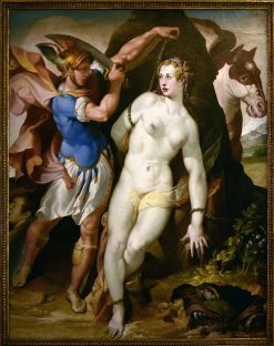 Perseus and Andromeda | Bartolomeo Passarotti | Oil Painting