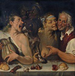 Merry Company | Bartolomeo Passarotti | Oil Painting