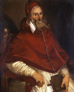 Pope Pius IV | Bartolomeo Passarotti | Oil Painting