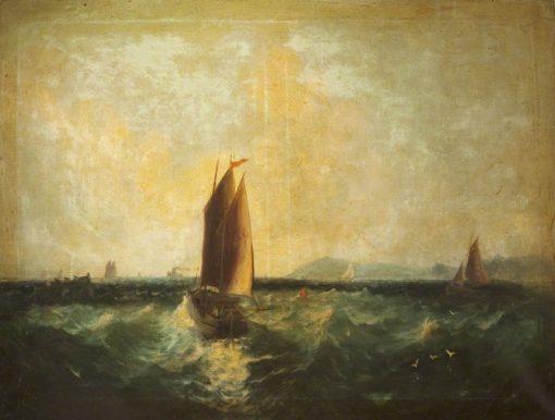 Off Ramsey Bay | James Webb | Oil Painting
