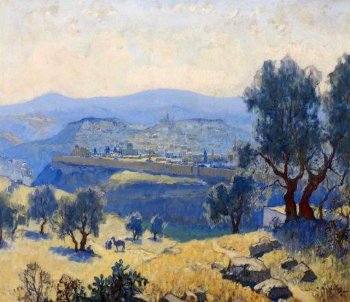 Jerusalem | Konstantin Gorbatov | Oil Painting