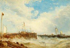 On the Coast of Holland | James Webb | Oil Painting