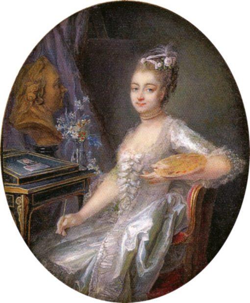 Self Portrait   Adelaïde Labille-Guiard   Oil Painting