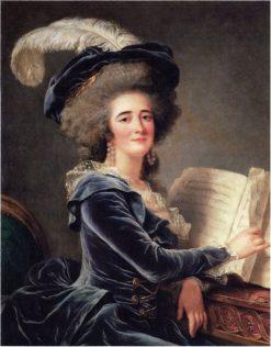 The Comtesse de Selve | Adelaïde Labille-Guiard | Oil Painting