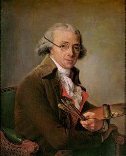 Portrait of Francois Andre Vincent | Adelaïde Labille-Guiard | Oil Painting