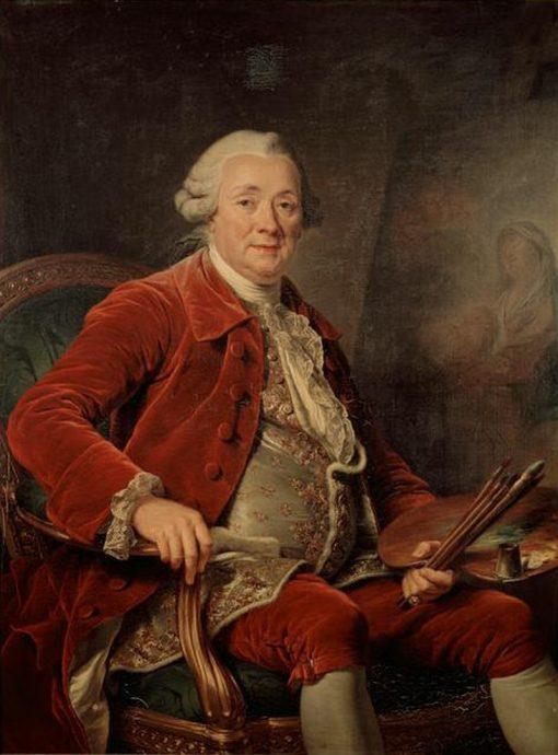 Portrait of Charles-Amedee-Philippe van Loo | Adelaïde Labille-Guiard | Oil Painting