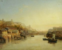 On the Meuse | James Webb | Oil Painting