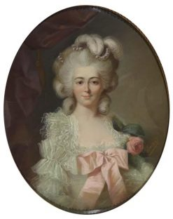 Portrait of Helena Apolonia Potocka nee Massalska | Adelaïde Labille-Guiard | Oil Painting