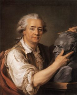Sculptor Augustin Pajou | Adelaïde Labille-Guiard | Oil Painting