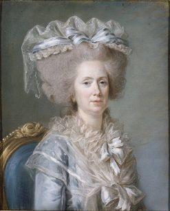 Marie Adelaïde de France | Adelaïde Labille-Guiard | Oil Painting