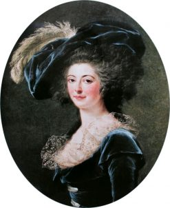 Portrait of Madame Alexis Janvier La Live de la Briche