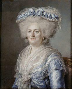 Marie-Therèse-Victoire de France | Adelaïde Labille-Guiard | Oil Painting