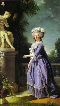 Victoire Louise Marie Therèse de France | Adelaïde Labille-Guiard | Oil Painting