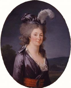 Portrait of the Marquise de Lafayette | Adelaïde Labille-Guiard | Oil Painting