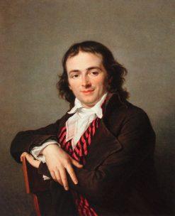 Portrait of Joachim Lebreton | Adelaïde Labille-Guiard | Oil Painting