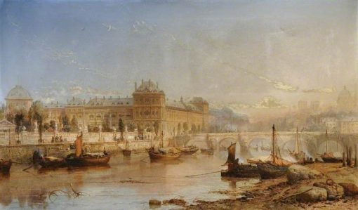 Paris | James Webb | Oil Painting