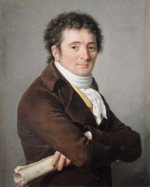 Portrait of the Comedian Tournelle