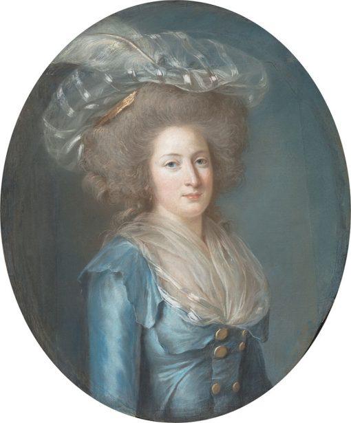 Elisabeth Philippine Marie Helène de Bourbon   Adelaïde Labille-Guiard   Oil Painting