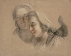 Portrait of Marie-Gabrielle Capet and Marie-Marguerite Carreaux de Rosemond | Adelaïde Labille-Guiard | Oil Painting