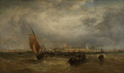 Portsmouth Harbour | James Webb | Oil Painting