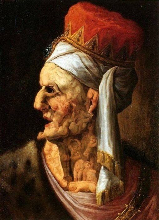 Head of Herod | Giuseppe Arcimboldo | Oil Painting