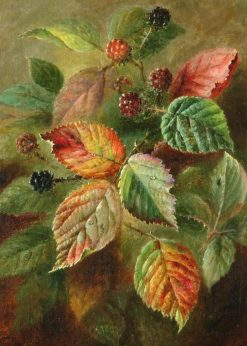 Blackberries | Albert Durer Lucas | Oil Painting