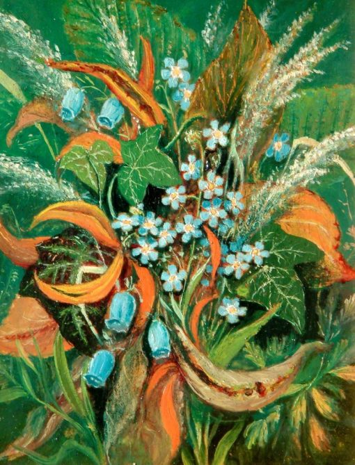 Forget-Me-Nots | Albert Durer Lucas | Oil Painting