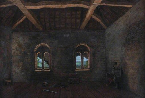 Interior of Norman Merchant House