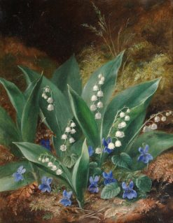 Lilies of the Valley | Albert Durer Lucas | Oil Painting