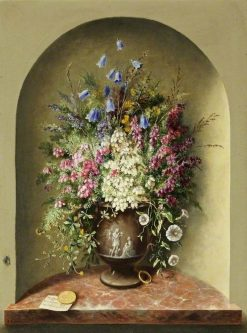 Wild Flowers | Albert Durer Lucas | Oil Painting