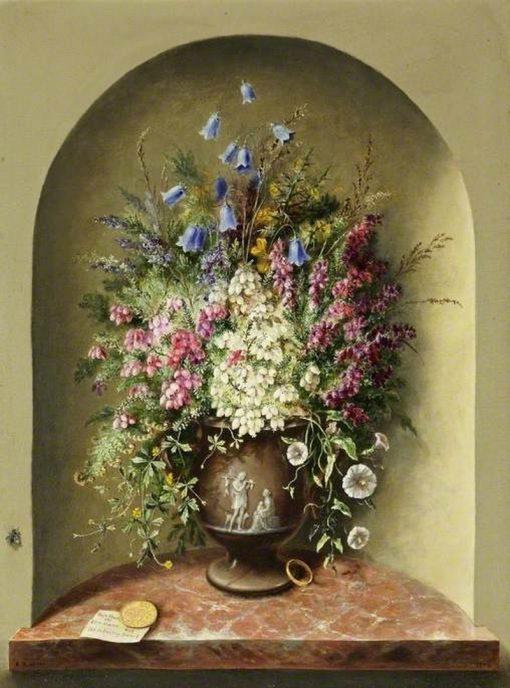 Wild Flowers | Albert Durer Lucas | Oil Painting