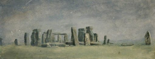 Stonehenge on Salisbury Plain | Albert Durer Lucas | Oil Painting