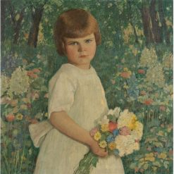 A Young Girl   Rae Sloan Bredin   Oil Painting