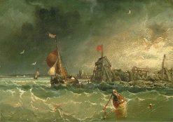Seascape | James Webb | Oil Painting