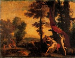 Diana and Callisto | Pietro Paolo Bonzi | Oil Painting