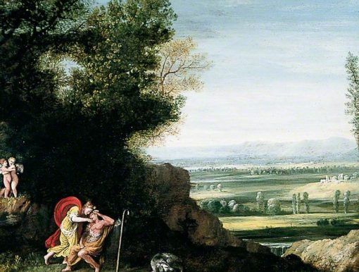 Diana and Endymion   Pietro Paolo Bonzi   Oil Painting