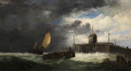 Seascape   James Webb   Oil Painting