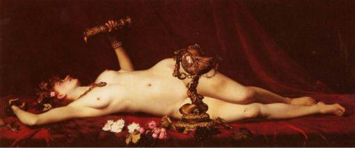 Bacchante Enivree | Adolphe Alexander Lesrel | Oil Painting