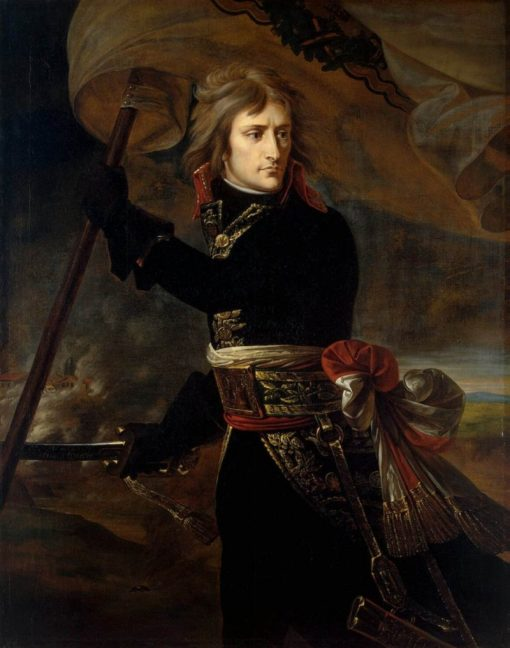 Bonaparte on the Bridge at Arcole | Antoine-Jean Gros | Oil Painting