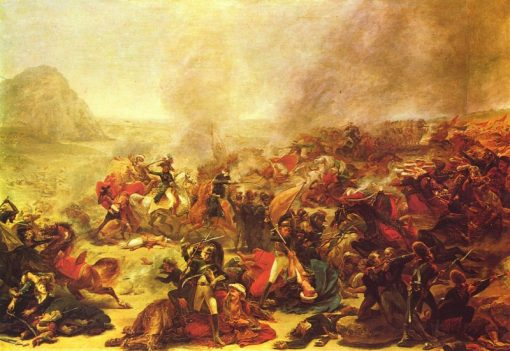 The Battle of Nazareth | Antoine-Jean Gros | Oil Painting