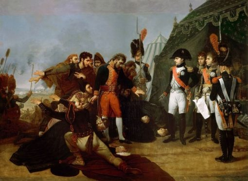 Napoleon Accepts the Surrender of Madrid
