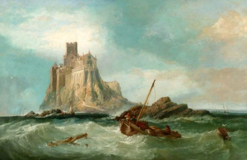 St Michaels Mount | James Webb | Oil Painting