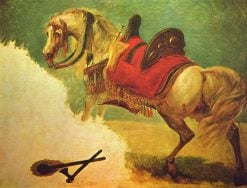 The Horse of Mustapha Pasha | Antoine-Jean Gros | Oil Painting