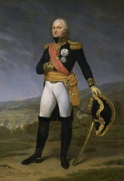 Portrait of General Claude Legrand | Antoine-Jean Gros | Oil Painting