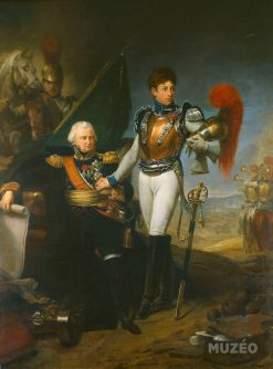 General Baston de Lariboisière and His Son Ferdinand | Antoine-Jean Gros | Oil Painting
