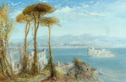 The Bay of Naples | James Webb | Oil Painting