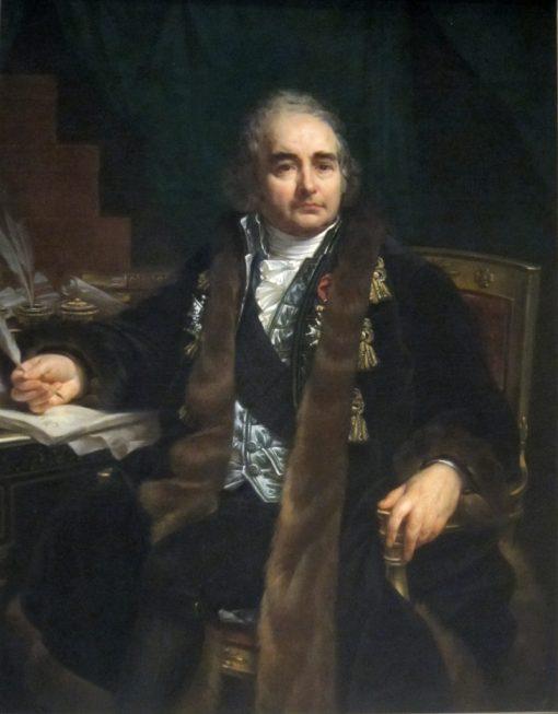Count Jean-Antoine Chaptal | Antoine-Jean Gros | Oil Painting