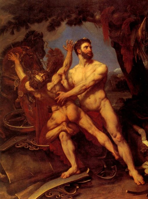 Hercules and Diomedes | Antoine-Jean Gros | Oil Painting