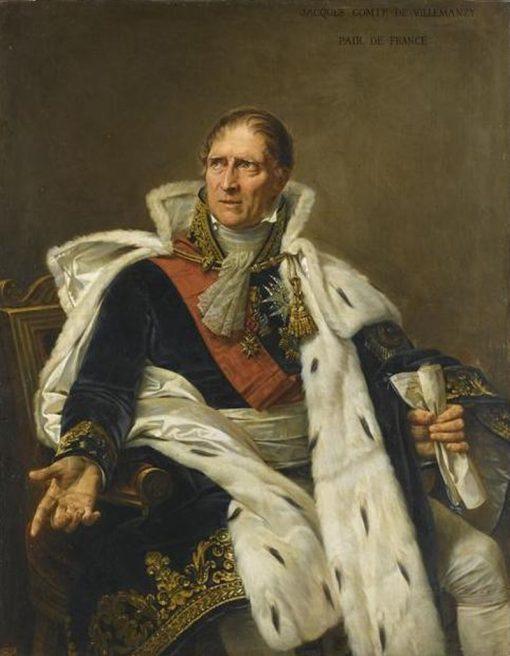General Pierre-Jacques Orillard de Villemanzy | Antoine-Jean Gros | Oil Painting