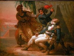 The Assassination of General Kleber | Antoine-Jean Gros | Oil Painting